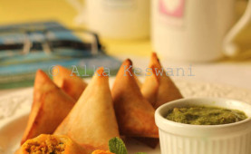 Chicken samosa with taco seasoning