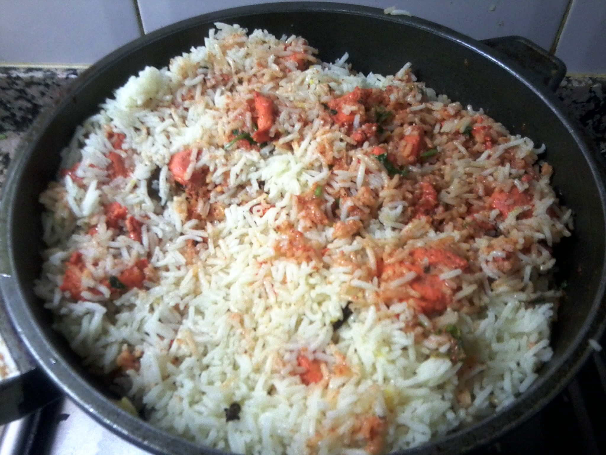 Chicken Tikka Biryani - Recipe on Click